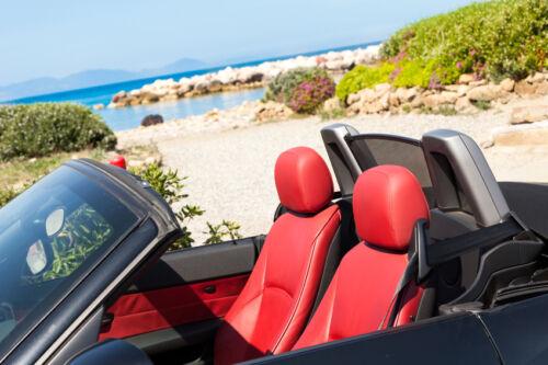 Im Cabrio durch den Sommer – worauf Sie bei Fahrten mit offenem Verdeck achten sollten