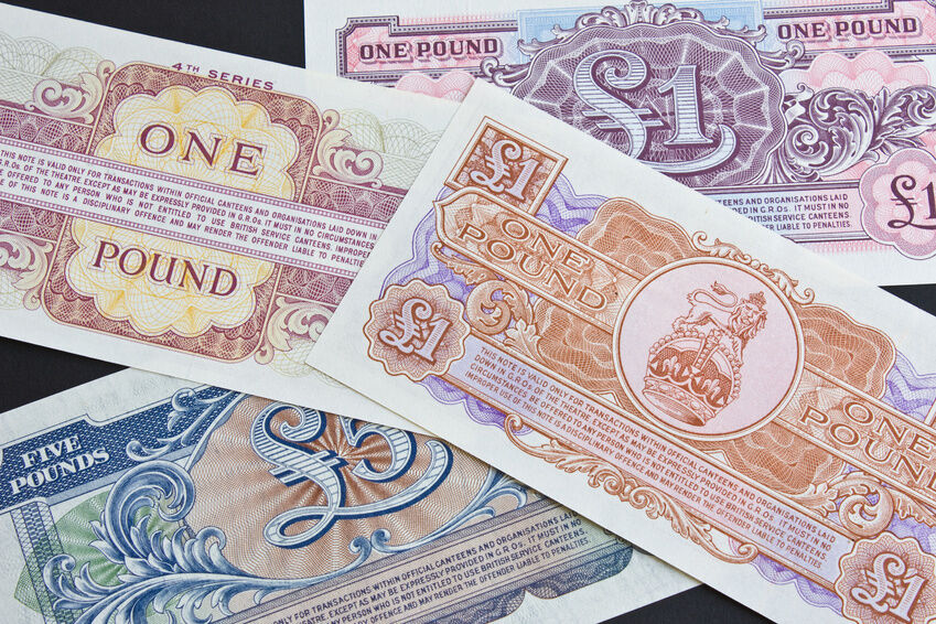 How to Preserve One Pound Notes