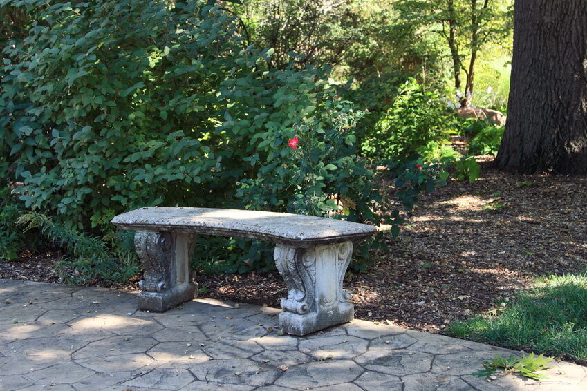 Cement Bench Molds : How to make a concrete bench ebay