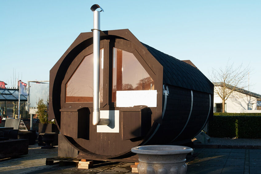 How to build a barrel sauna ebay for Build your own barrel sauna