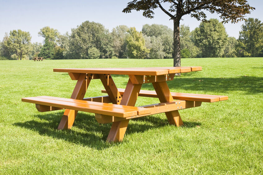 picnic tables and outdoor benches are staples for most decks and ...