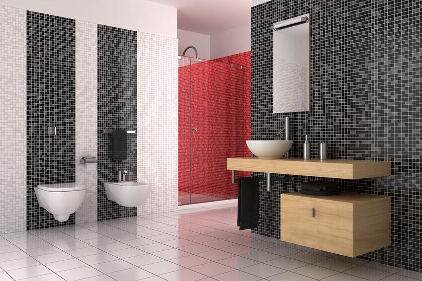 kein bad wie jedes andere tolle muster in der dusche mit glasmosaik zaubern ebay. Black Bedroom Furniture Sets. Home Design Ideas