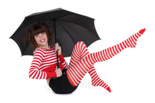 How to Wear Striped Tights