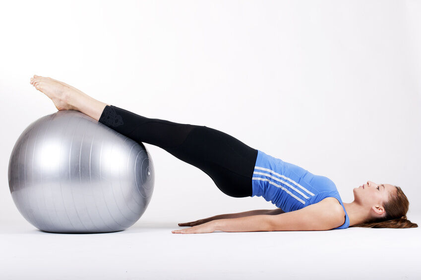 How to Use a Pilates Ball