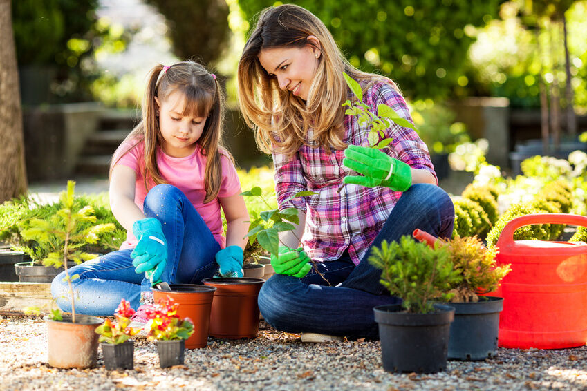 7 Fun Garden Projects for the Kids
