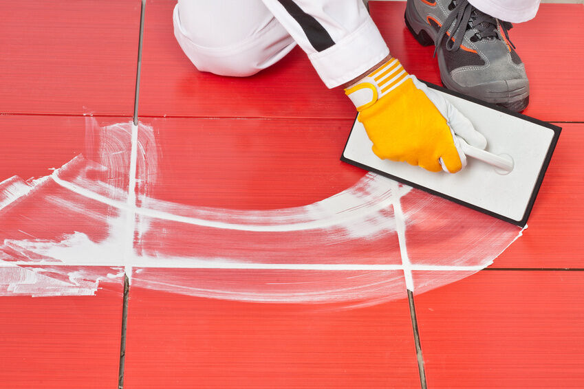 How to Re-grout Interior Tiles