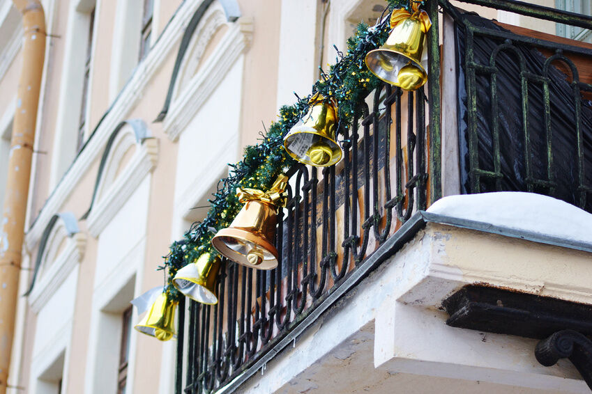 Christmas Decorating Tips for Your Apartment Balcony eBay