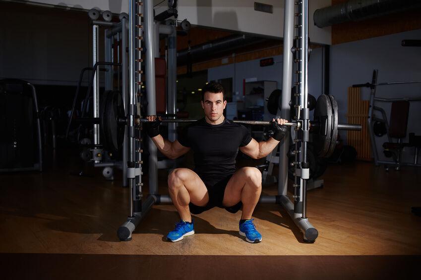 best home squat machine