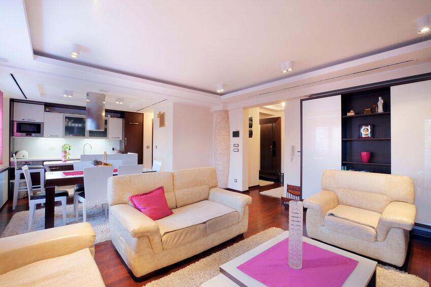 Wohnzimmer Hell Ausleuchten : ... , wie Sie die perfekte Deckenlampe ...