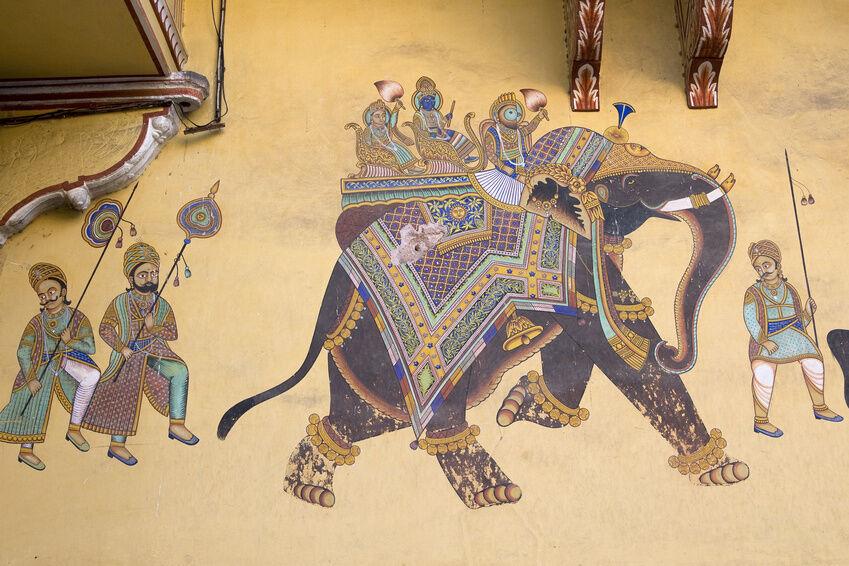 Einrichtungstipps indisch inspirierte wandmalerei ebay for Indische dekoartikel