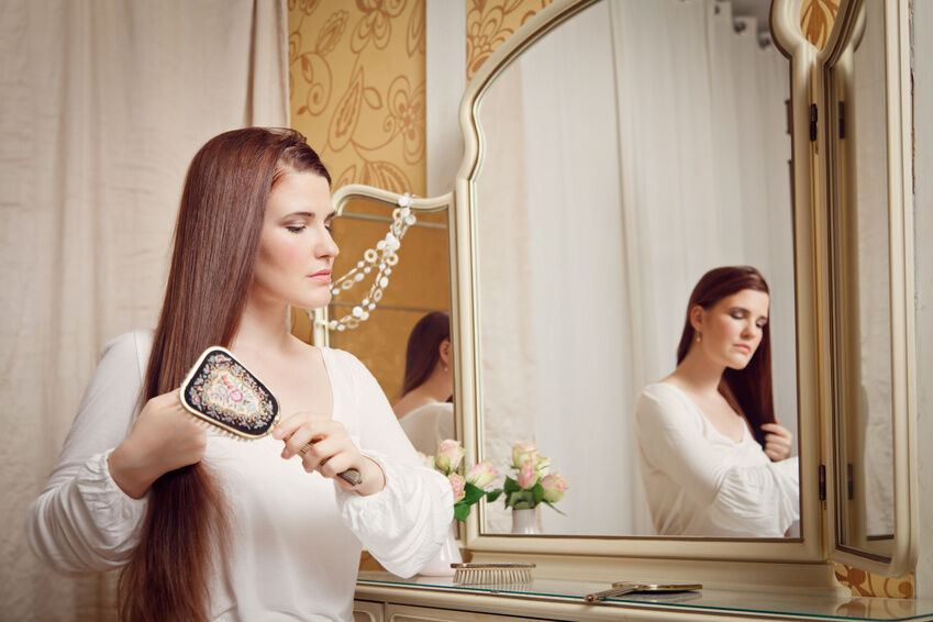 How to Fix a Chipped or Cracked Dressing Table Mirror