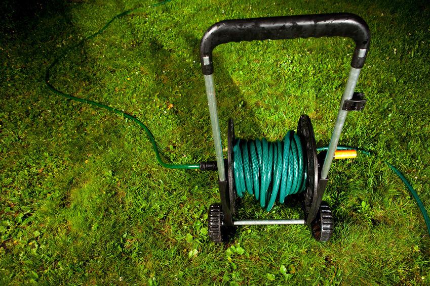 how to build a hose reel