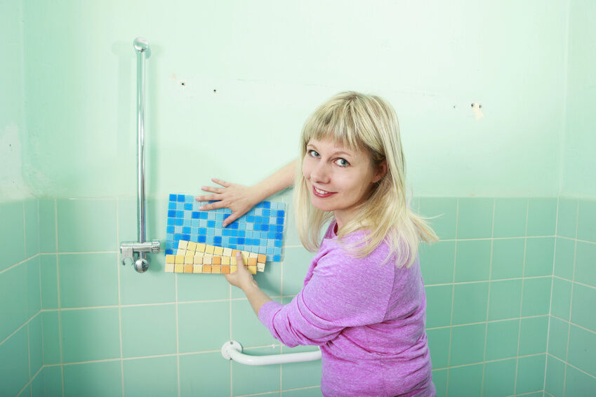 Replace Bathroom/Kitchen Tile