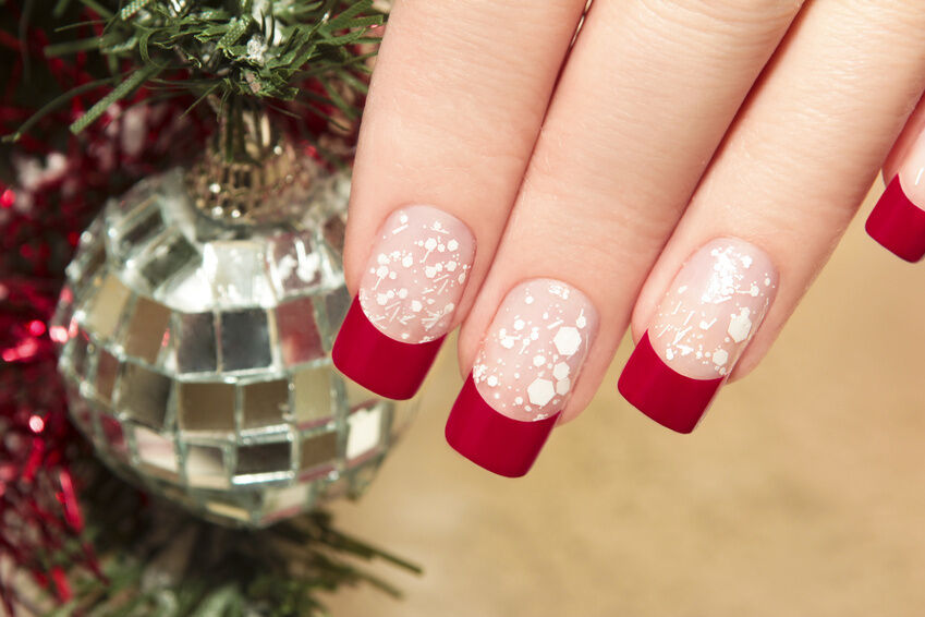 DIY Christmas and Festive Nail Art Designs | eBay