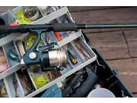 100 items of fishing gear