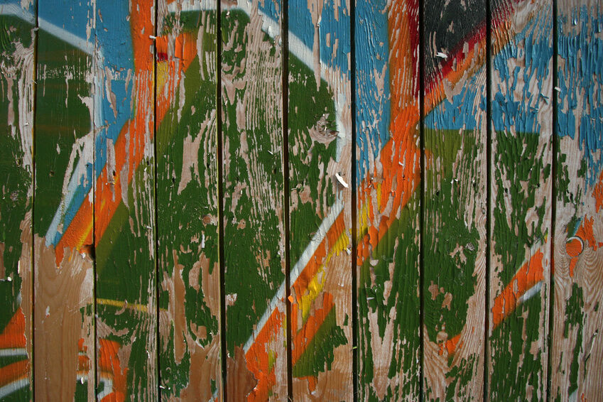 How to Remove Graffiti from Wooden Fences