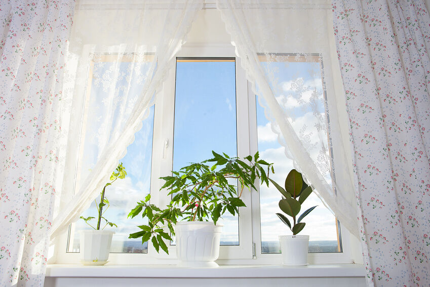 Replace Window Curtains