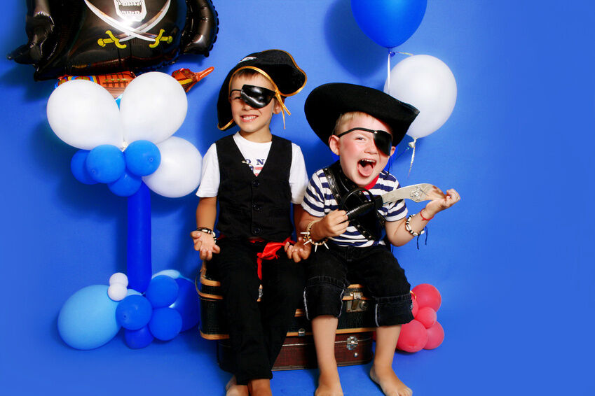 How to Create a Boy's Pirate Fancy Dress Costume