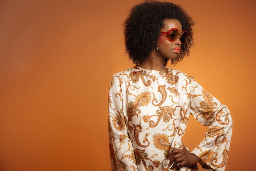 How to Accessorise a Paisley Dress