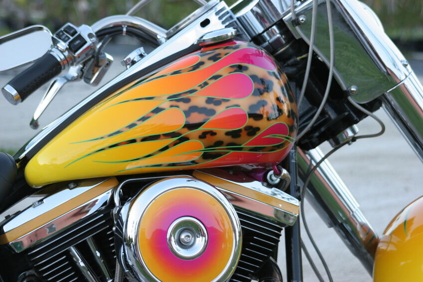 How To Build A Custom Motorcycle Gas Tank Ebay