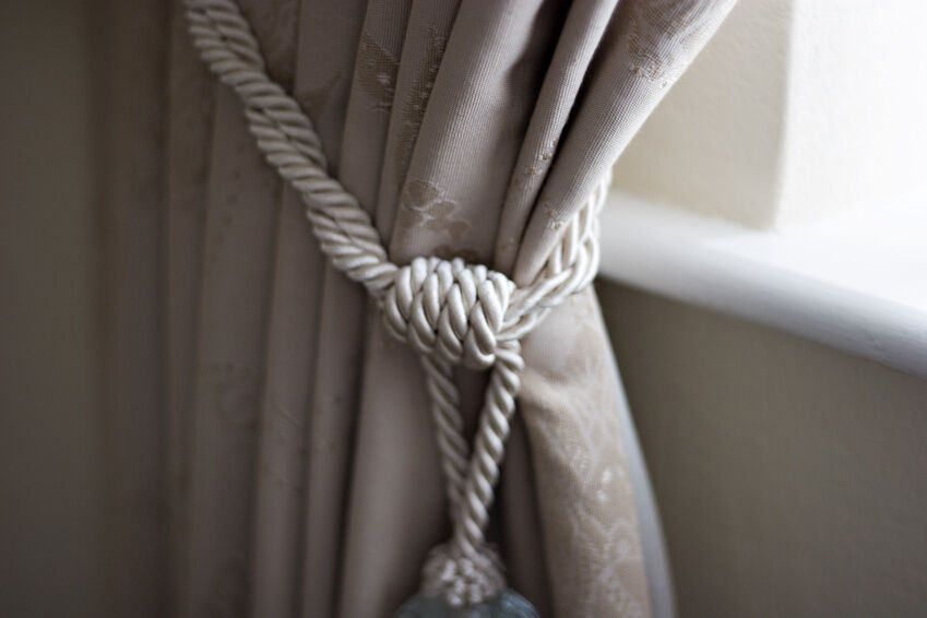 How To Attach Curtain Tiebacks