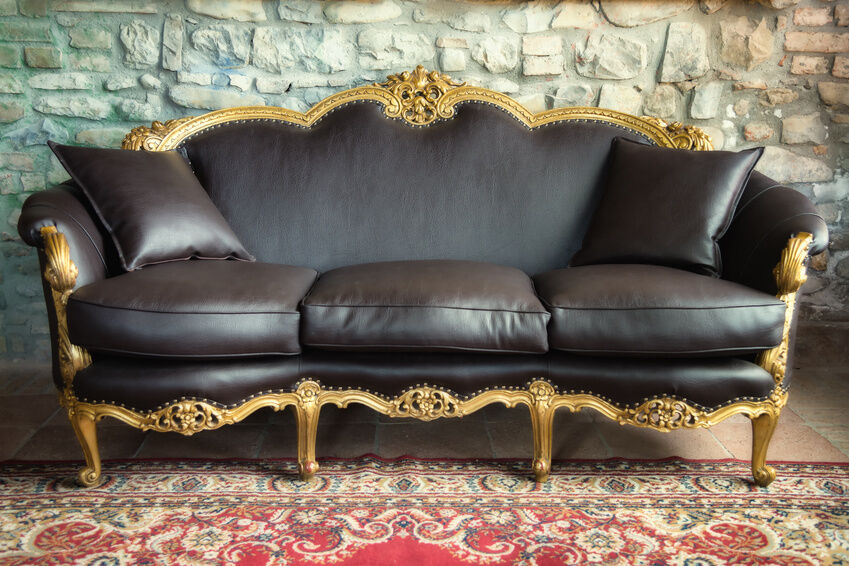 Real Vs Faux Leather Sofa