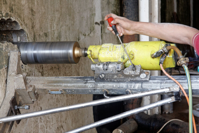 How to Safely Use a Concrete Core Drill | eBay