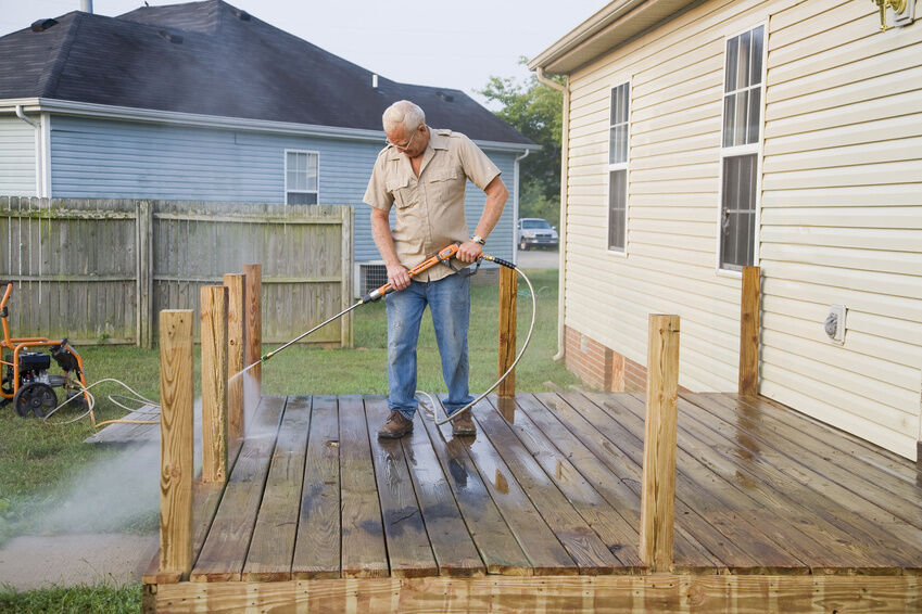 How to Clean and Seal a Deck