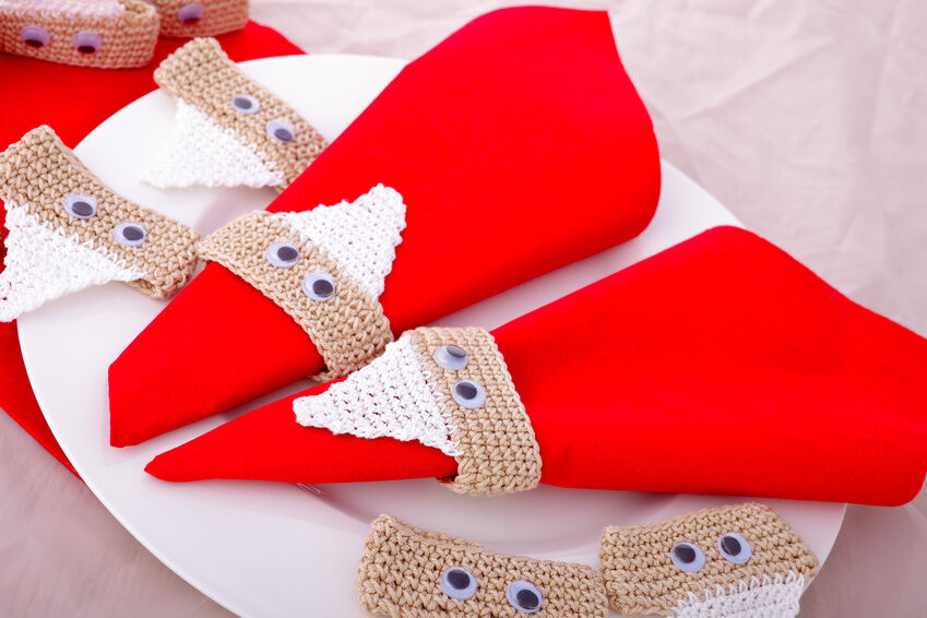 How to Fold Table Napkins into Christmas Shapes | eBay