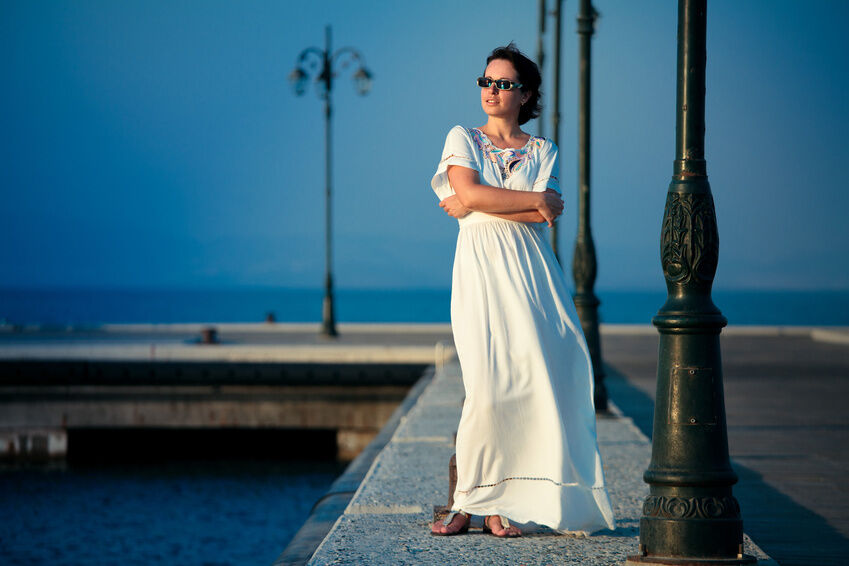 How to Accessorise Short Sleeve Maxi Dresses