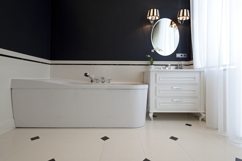 DIY How To Create Classy Bathroom Wall Panels EBay