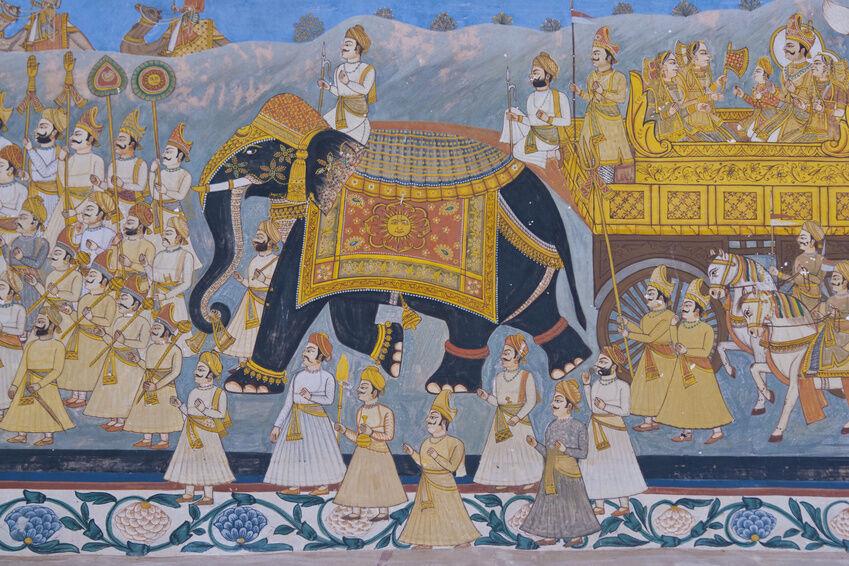 Einrichtungstipps indisch inspirierte wandmalerei ebay for Indische inneneinrichtung