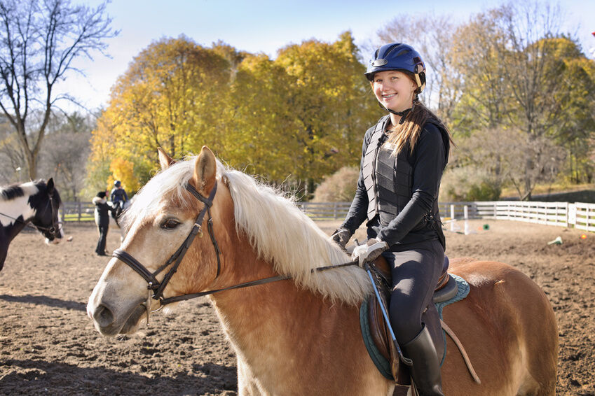 Helmets for horseback riding