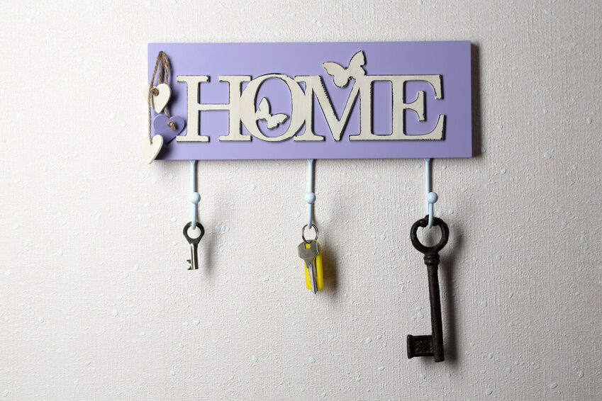 How to Make a Wall Key Holder