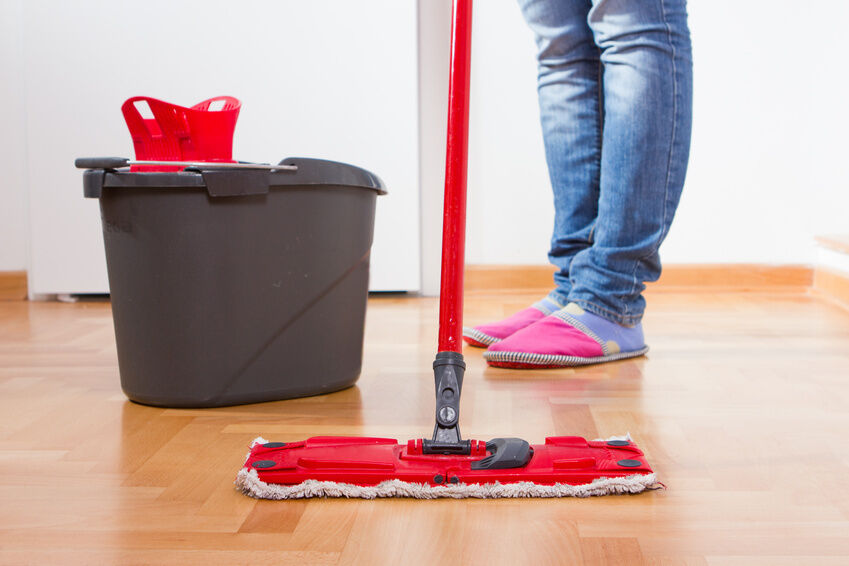 how to clean hardwood floors properly