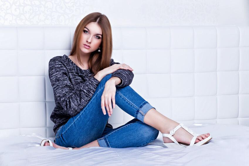 Blue Jeans von Victoria Beckham: So finden Sie die passende Größe