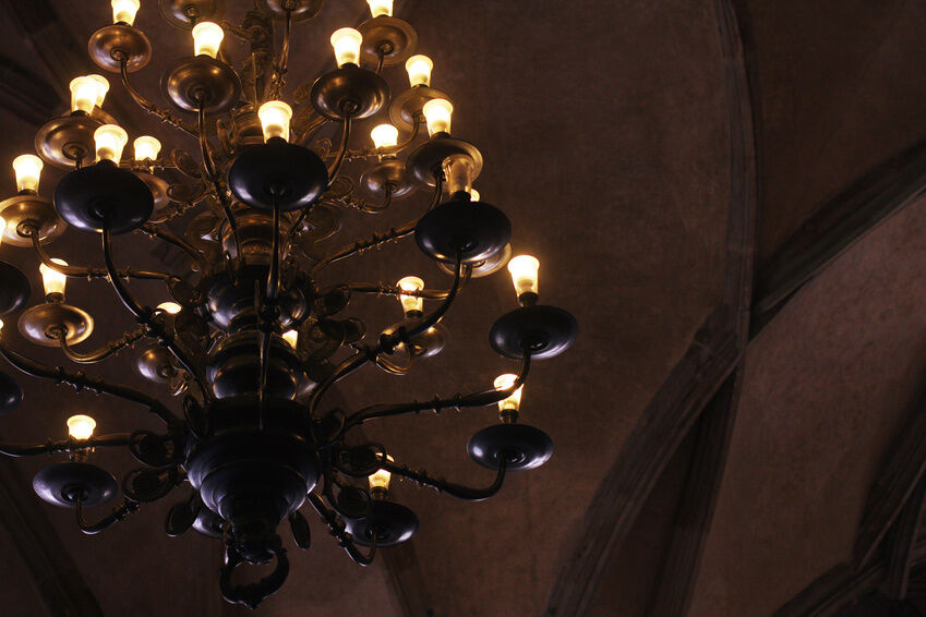 How To Clean A Wrought Iron Chandelier EBay