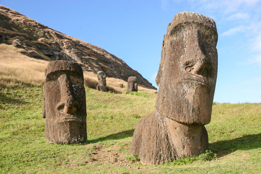 How Are The Easter Island Heads Made