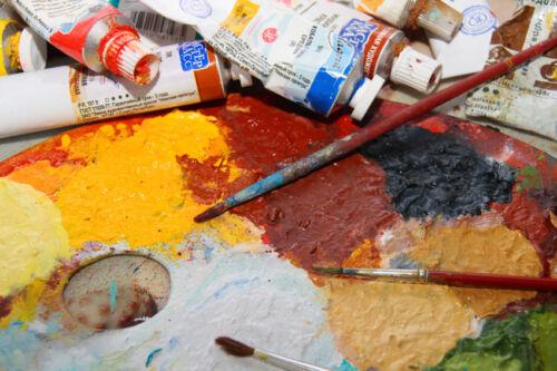 tipps und tricks zum malen mit lfarben ebay. Black Bedroom Furniture Sets. Home Design Ideas