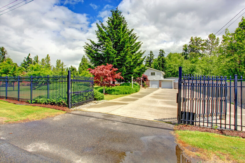 how to build a metal gate for a driveway ebay