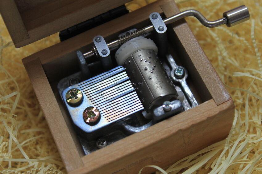 Spieluhren: Musik aus der Schachtel