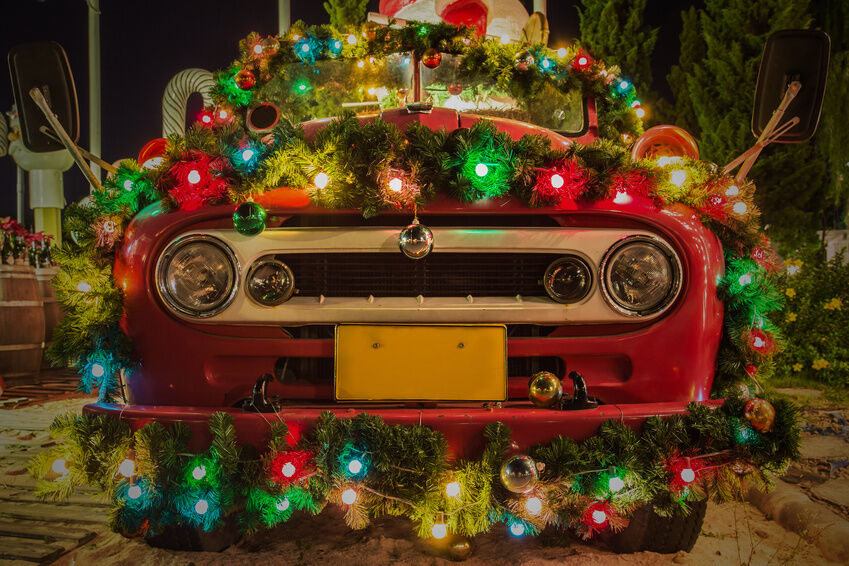 How to Decorate Your Car with Lights for the Neighborhood ...
