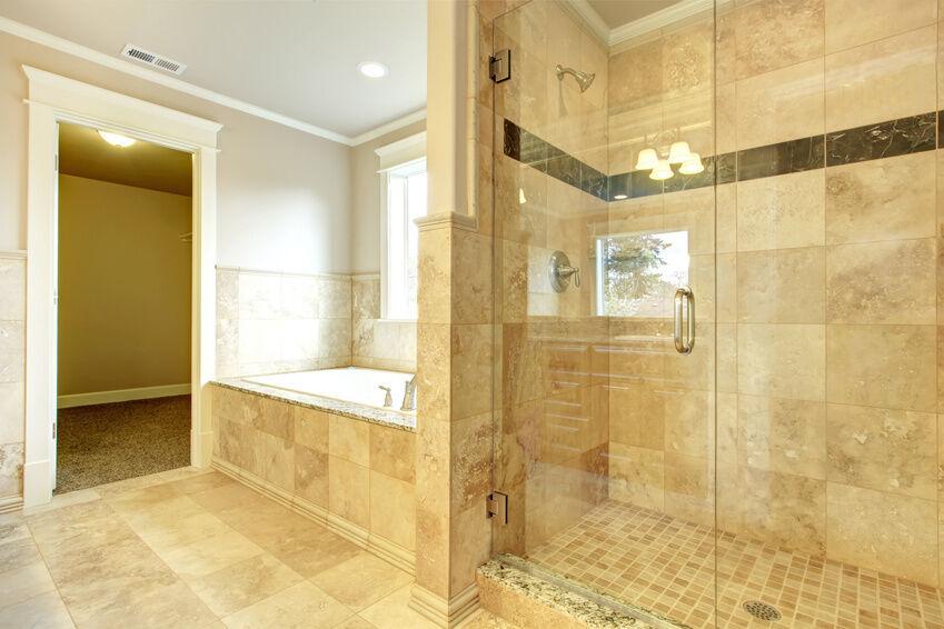 how to install a frameless glass shower door