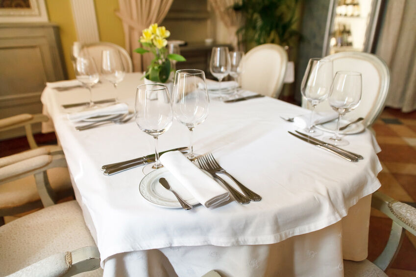 To Purchase The Right Tablecloth, Consumers Should Know The Shape And Size  Of Their Table. Tablecloths Come In Several Shapes: Round, Oval, Square, ...