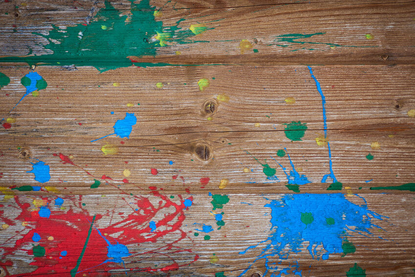 How to Remove Acrylic Paint Stains