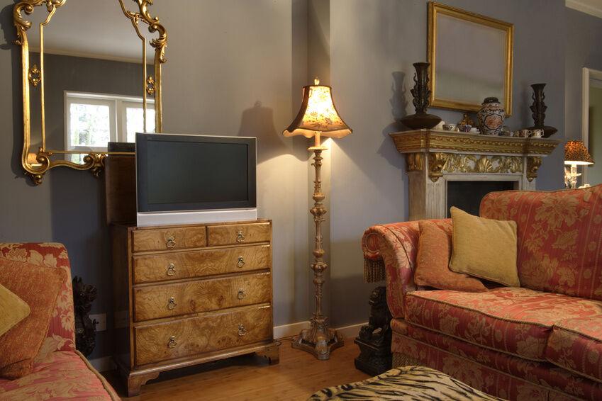 Einrichtungstipps: Wohnzimmer Mit Kommode Im Landhausstil