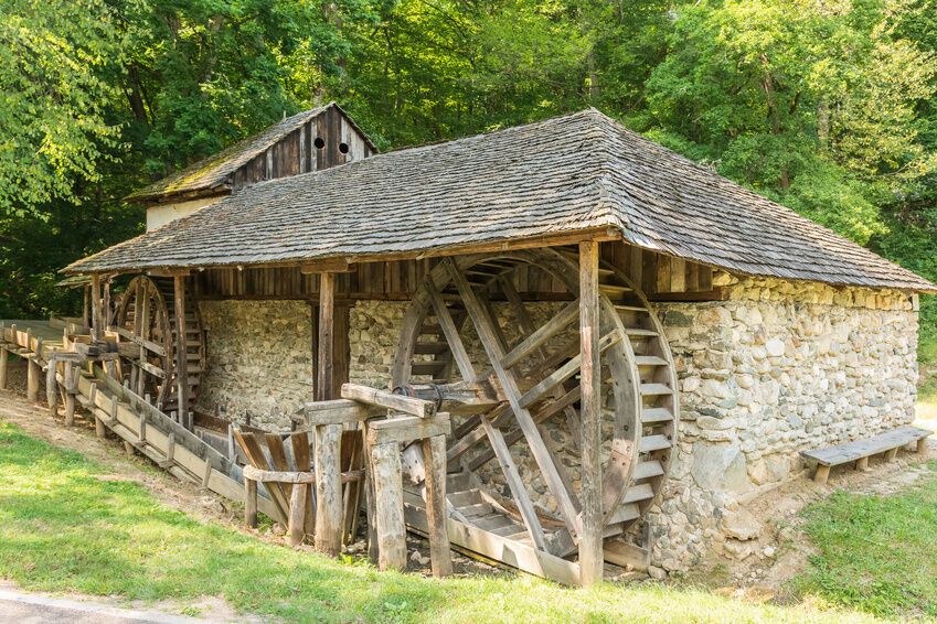 How To Build A Water Wheel Out Of Wood