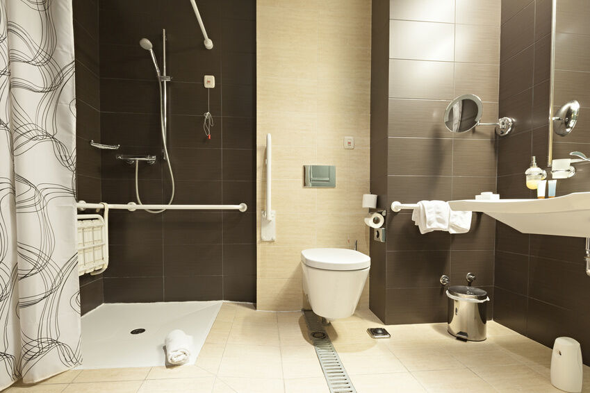 how to build a barrierfree shower