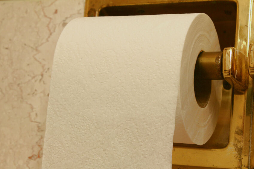 how to install a recessed toilet paper holder