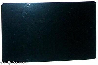 100pcslaser Engraved Metal Business Cards Blanks3.4x2.1inthicknes 0.45mm Black
